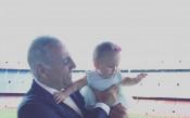 Мика Стоичкова с трогващо послание към баща си и мъжа до нея
