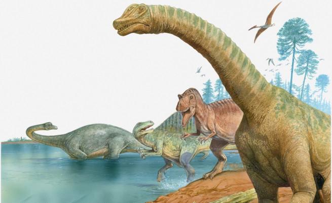 Ерата на динозаврите започнала заради вулкани