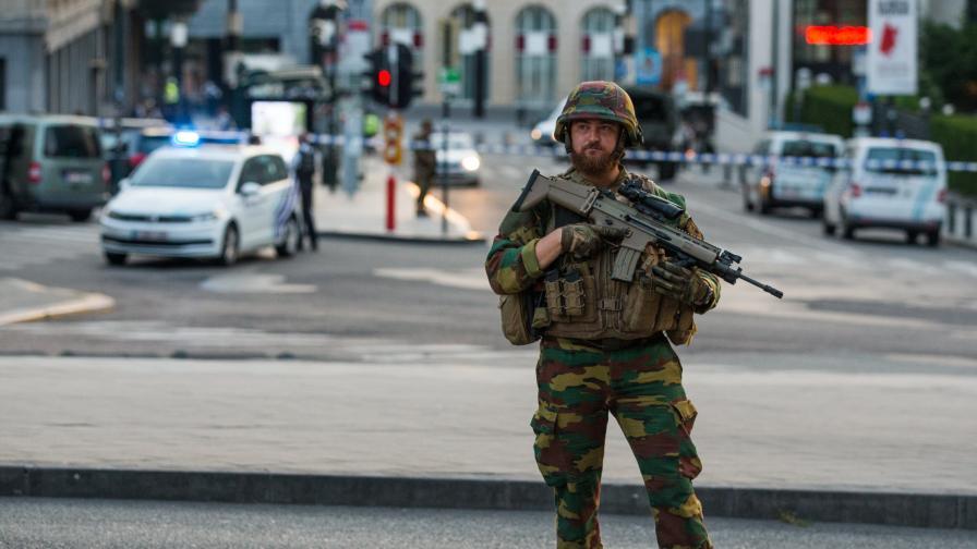Ситуацията в центъра на белгийската столица