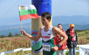 Спортният талант Александър Сръндев е шампион по планинско бягане