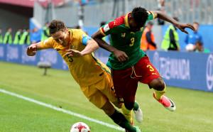 Камерун и Австралия се неутрализираха