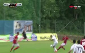 Карабах - ЦСКА 0:4 /първо полувреме/