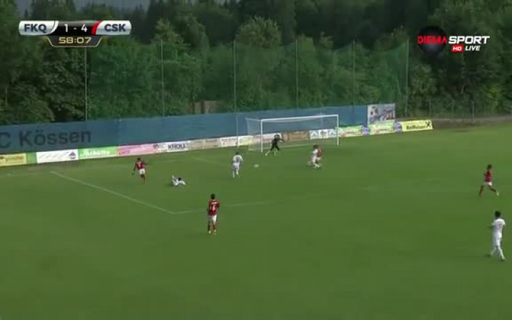 Пети гол за ЦСКА срещу Карабах
