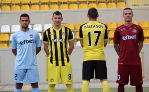 Вижте новите екипи на Ботев
