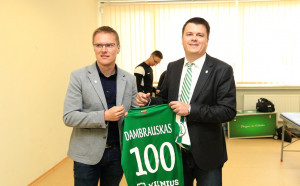 Катеначо по литовски чака Лудогорец в първия мач