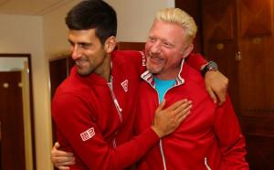 Джокович с жест към Бекер след банкрута му