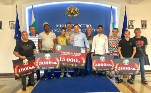 Раздадоха премиите след Европейското по бокс за мъже