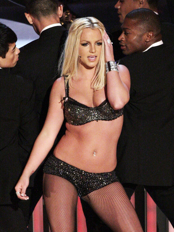 Бритни Спиърс през 2007г.