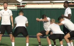 Тренировка на Германия в Сочи преди двубоя с Мексико