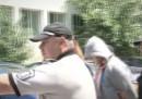 Биячът от Несебър при влизането в съда
