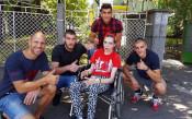 ЦСКА в помощ на болно момиче