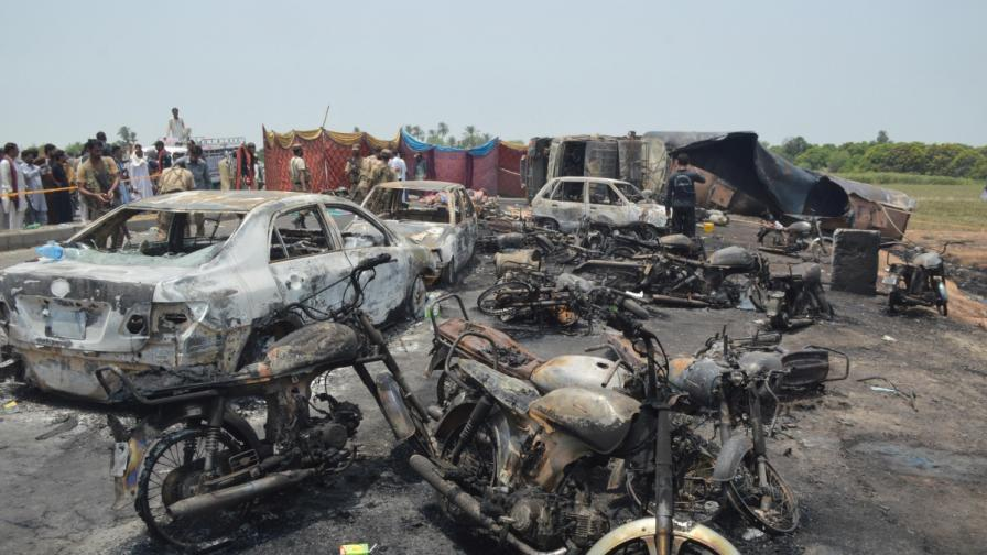 190 станаха жертвите на нелепа смърт в Пакистан