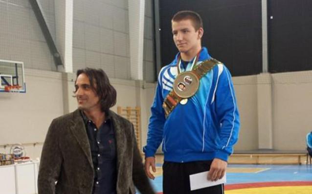 Красимир Крумов<strong> източник: http://www.bul-wrestling.org</strong>