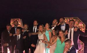 Сватба на годината и в испанския баскетбол