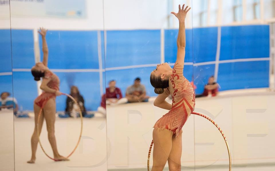 Гимнастичките пробваха нови елементи на контролно