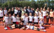 Откриха тенис кортове и волейболно игрище на Локомотив