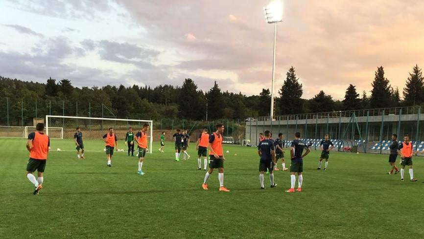 Юношеските национали тренират за Германия<strong> източник: facebook.com/BulgarianNationalTeam/</strong>