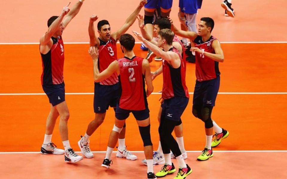 Американците на полуфинал в Световната лига