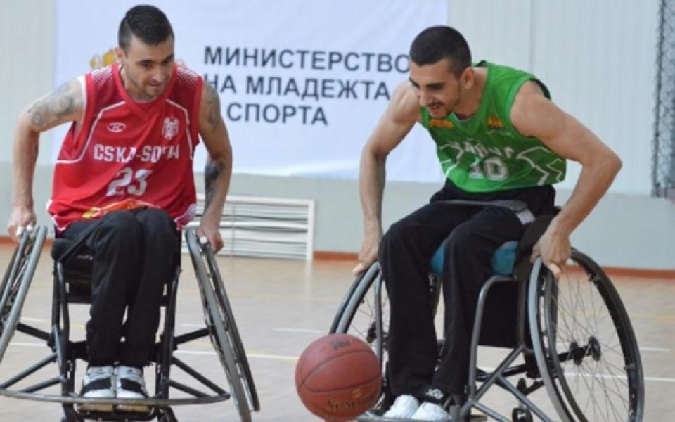 Националният отбор по баскетбол на колички ще дебютира в Гърция