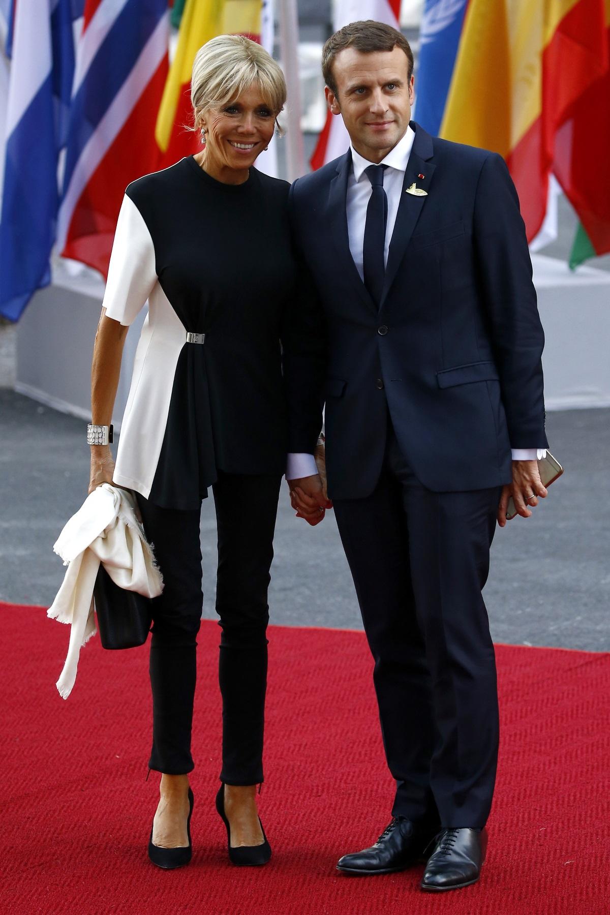Брижит Макрон на срещата на Г-20 в Хамбург