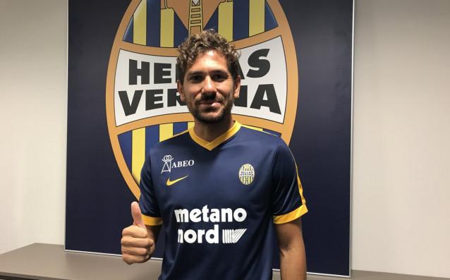 Алесио Черчи<strong> източник: twitter.com/HellasVeronaFC</strong>
