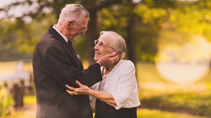 Как изглежда ИСТИНСКАТА ЛЮБОВ след 65 г. брак