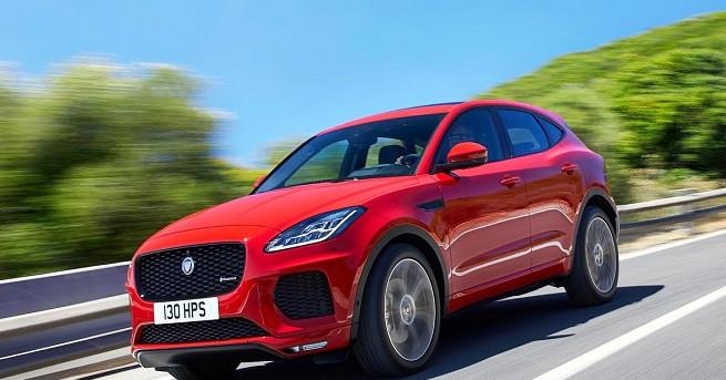 E-PACE е най-новият член на семейството SUV автомобили на Jaguar,