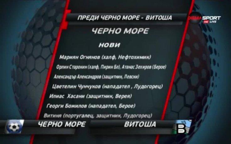 Дебютантът Витоша с труден тест срещу Черно море