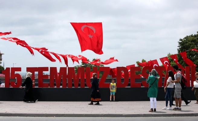 Турция година след преврата