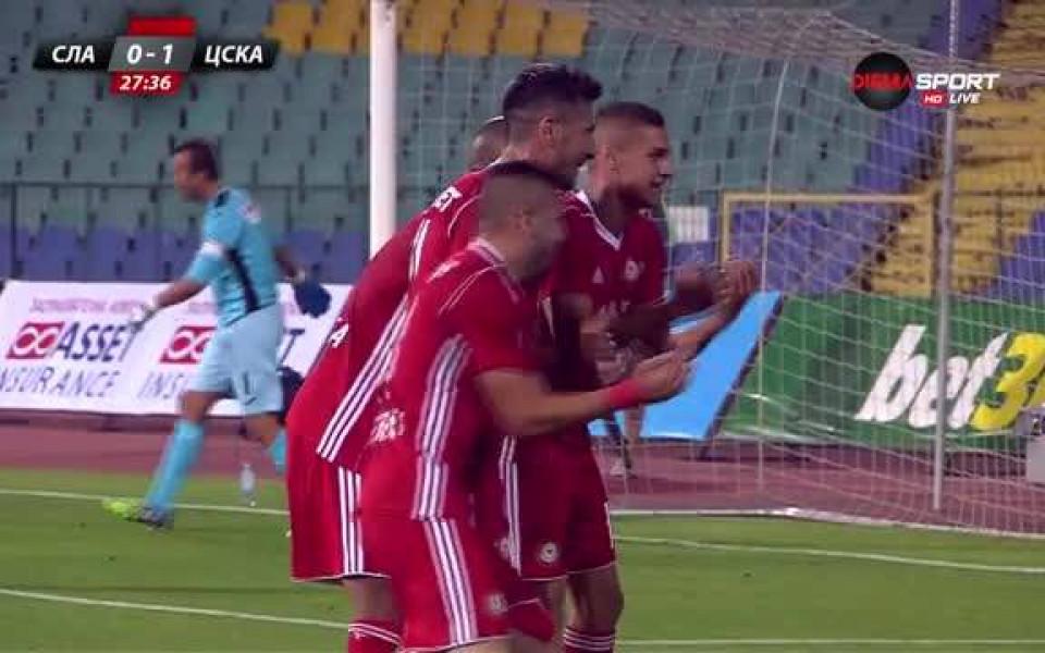 17841459592 Славия - ЦСКА 0:1 /първо полувреме/ - БГ Футбол - Първа лига - Gong.bg