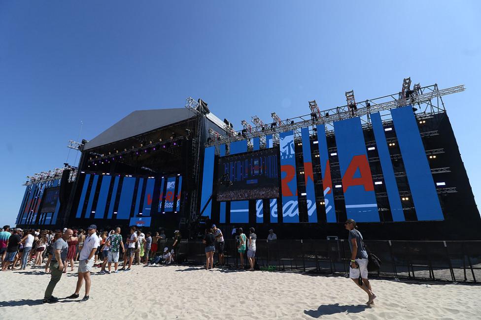 - Концерта на MTV във Варна