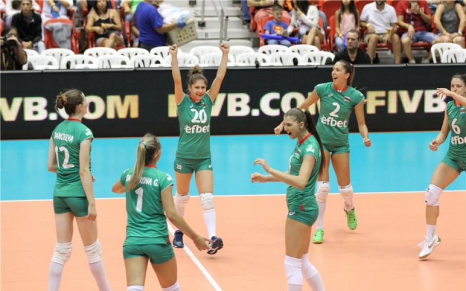 Волейболните националки с равенство срещу Русия в първата контрола