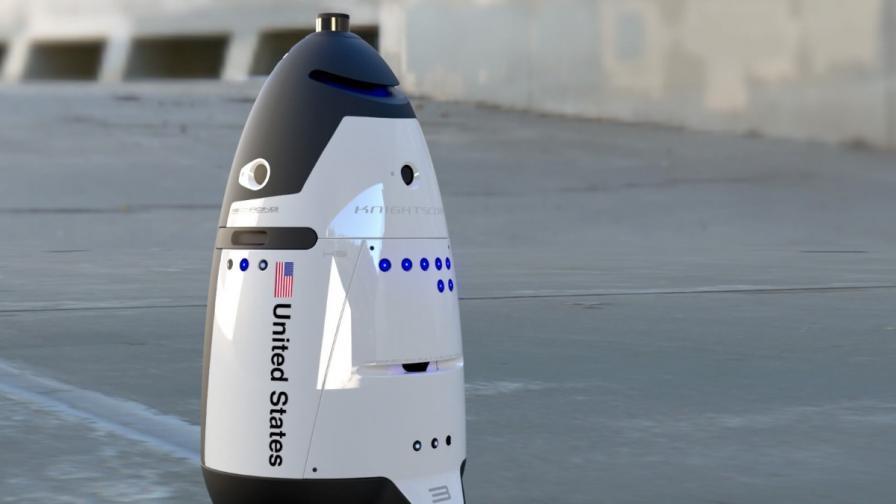 Робот-полицай се самоуби във Вашингтон