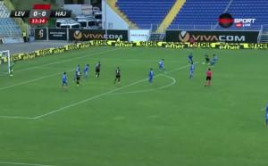 Левски - Хайдук 0:0 /първо полувреме/