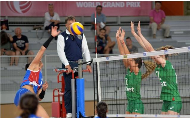 България - Пуерто Рико източник: volleyball.bg