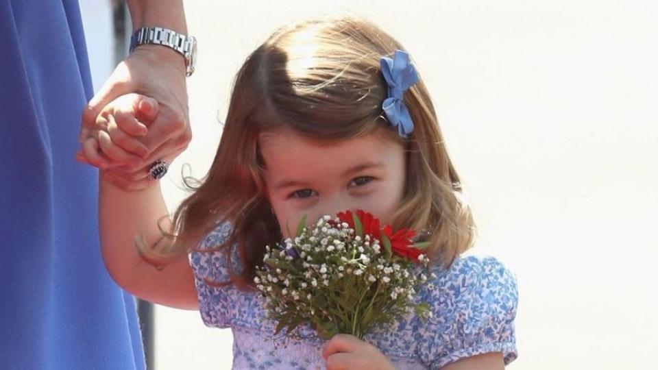 Принцеса Шарлот може да е само на 2, но вече е жена, която знае какво иска!