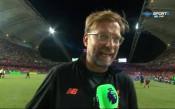 Юрген Клоп: Страхотно е, че спечелихме тази купа