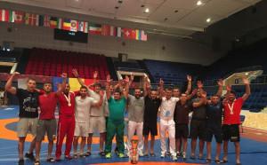 Борците с отборна титла в Румъния