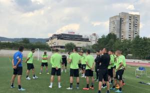 Черно море се зае сериозно с мача срещу Дунав