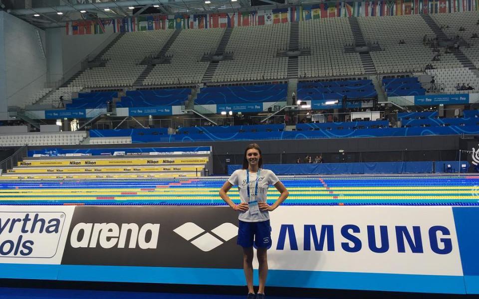 Габриела Георгиева 32-а в Глазгоу на 50 метра гръб