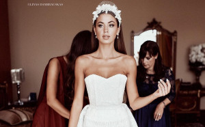 Булката-мечта в литовската сватба на лятото