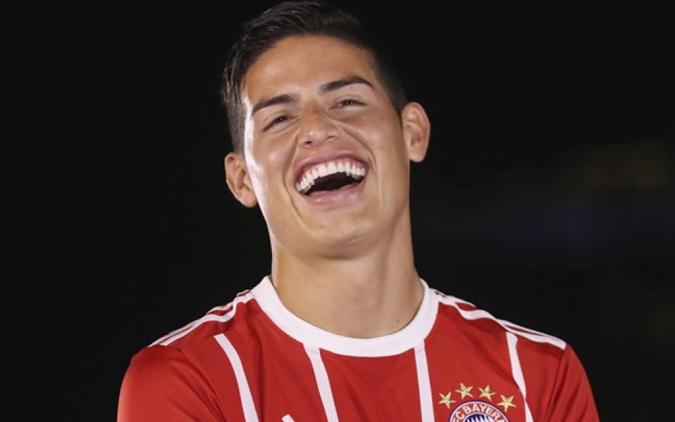 Реал Мадрид си връща Хамес без пари