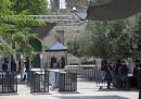 """Детекторите за метал пред джамията """"Ал Акса"""""""