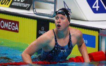 Лили Кинг изпревари Ефимова на 100 метра бруст на Световното