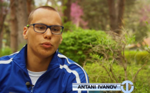 Антъни Иванов не успя да повтори подвига и на 100 метра