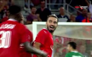 Втори гол във вратата на Лудогорец в Израел