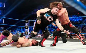 Ей Джей Стайлс грабна титлата на САЩ в Разбиване