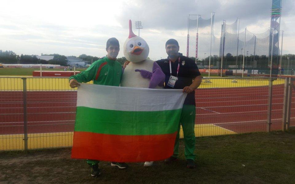 Силно начало за българите в леката атлетика на Младежките игри