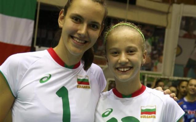 Александра Георгиева и Мерелин Николова източник: www.volleyball.bg