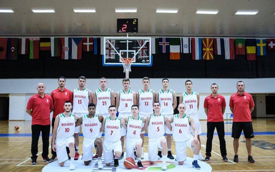 България запази шансове за 1/4-финал на Европейското до 18 години